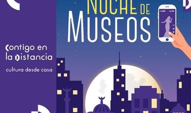 Charlas en vivo, conferencias y recorridos virtuales podrán disfrutarse en la Noche de Museos