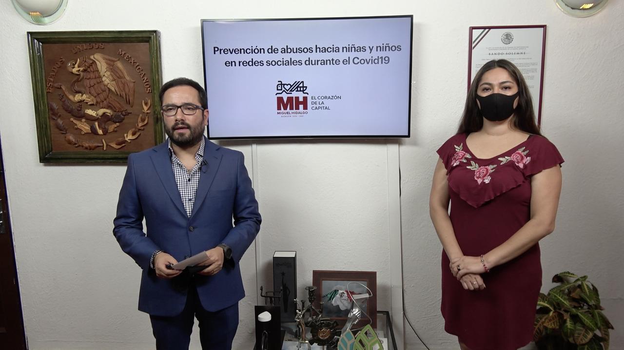 Lanza Miguel Hidalgo campaña para prevenir abuso sexual en redes sociales