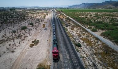 A la baja reportes de siniestros, robo y vandalismo en el Sistema Ferroviario Mexicano