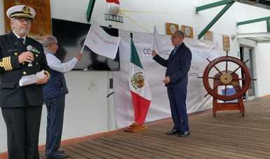 Con el inicio del Programa de Carreteras Marítimas, la SCT celebra el Día de la Marina