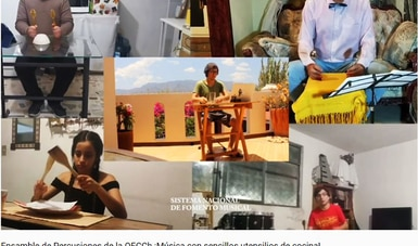 La Orquesta Escuela Carlos Chávez muestra su ímpetu musical con 12 videos en Contigo en la distancia