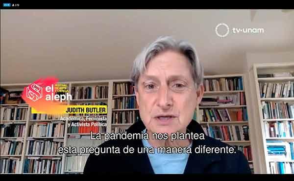 Acuerdo colectivo por la igualdad social, probabilidad de la pandemia: Judith Butler