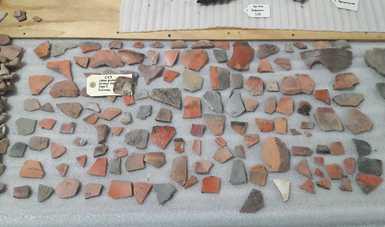 Avanza catalogación de bienes arqueológicos en la bodega de la Zona Arqueológica de Cacaxtla-Xochitécatl