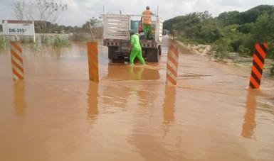 Se restablece el tránsito vehicular en la carretera Villahermosa-Escárcega
