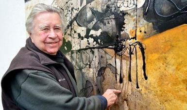 Deja Manuel Felguérez su impronta en el INAH