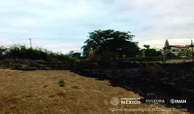 Sin afectaciones a monumentos, incendio menor registrado en la Zona Arqueológica El Chanal, Colima