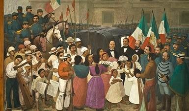 Deja Antonio González Orozco su huella en los muros del Castillo de Chapultepec