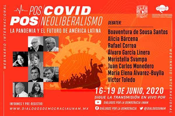 En la UNAM, expertos de Iberoamérica analizarán el mundo pos-COVID-19