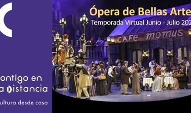 Ópera de Bellas Artes presenta seis obras de amplia estilística en su temporada virtual