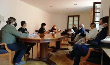 Acuerdos de la reunión con familiares de personas desaparecidas que mantienen un plantón en el Zócalo de la Ciudad de México