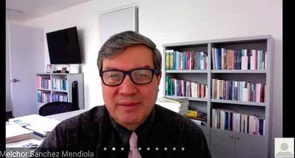 Melchor Sánchez Mendiola, primer titular de la CUAIEED de la UNAM