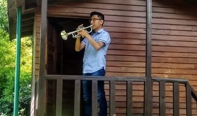 Trompetista de La Chávez formará parte de la Orquesta de las Américas, con 80 músicos jóvenes del continente