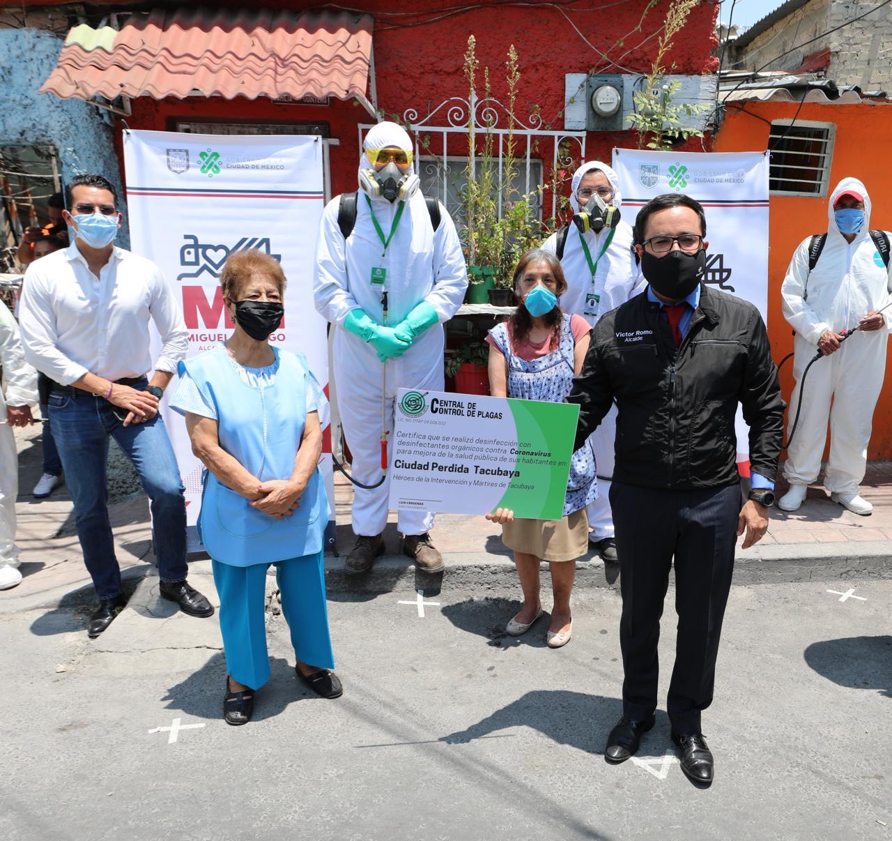 Sanitiza Miguel Hidalgo Ciudad Perdida Tacubaya