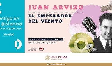 Con miniserie de podcasts, la Fonoteca Nacional festejará 120 años de Juan Arvizu