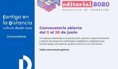 Próximo cierre de la convocatoria 2020 para participar en La Fábrica de producción editorial. Proyectos en formación
