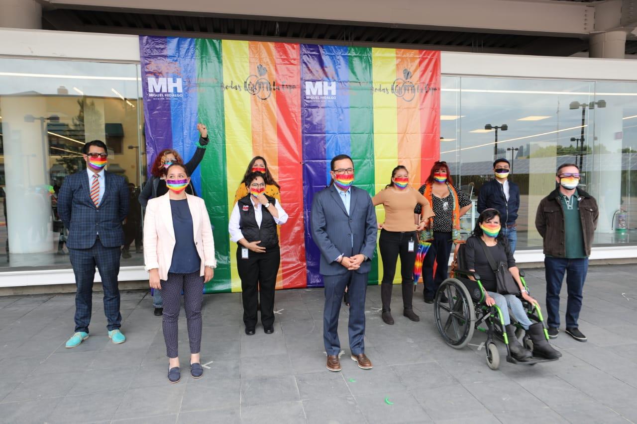 Respaldo total en Miguel Hidalgo a la comunidad LGBTTTI