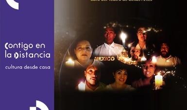 El Coro del Teatro de Bellas Artes representa a México en ensamble multinacional por la Tierra