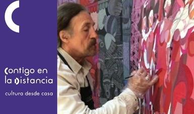 Julio Carrasco, integrante del Salón de la Plástica Mexicana, aborda su quehacer artístico en serie de videos