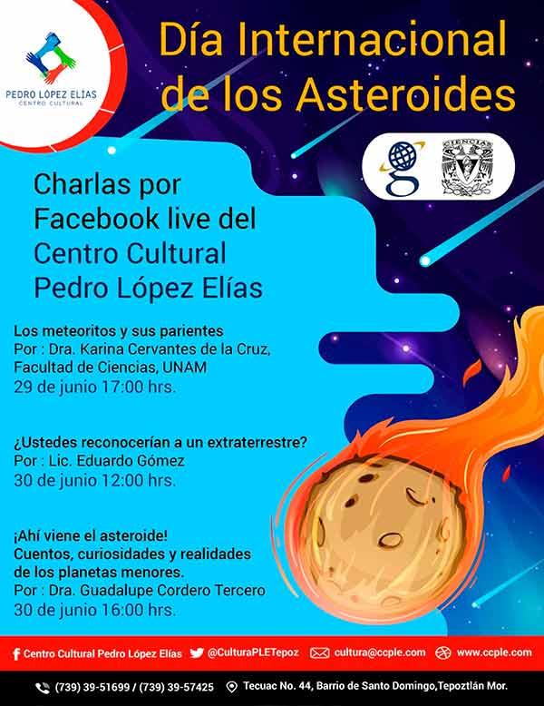 La UNAM se suma a la conmemoración del Día Internacional de los Asteroides