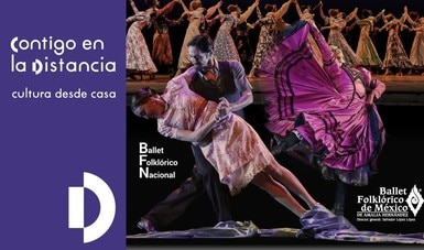 Comparten ensayo en línea los ballets folklóricos de México de Amalia Hernández y Nacional de Argentina