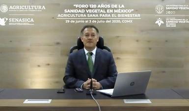 """Inicia Agricultura foro virtual """"120 años de la Sanidad Vegetal en México"""""""