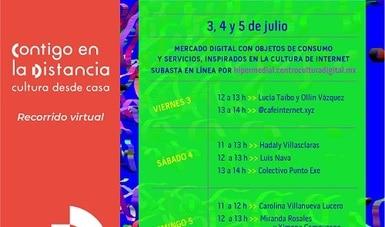 El Centro de Cultura Digital celebra el primer Yami Ichi: tianguis de intercambios digitales, en línea