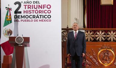 México, país de oportunidades donde todas las clases sociales podrán gozar de bienestar, afirma presidente