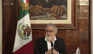 Mensaje del subsecretario Alejandro Encinas Rodríguez, durante la rueda de prensa de la Comisión para la Verdad en el Caso Ayotzinapa