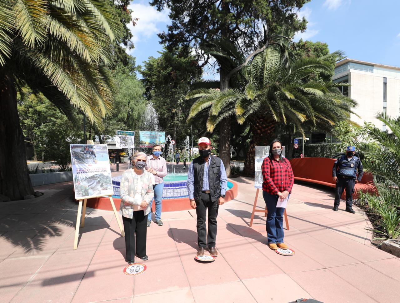 Entrega AMH espacios públicos totalmente rehabilitados