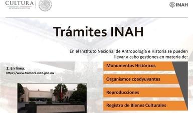 De manera virtual, INAH mantiene en operación la Ventanilla Única durante contingencia sanitaria por COVID-19