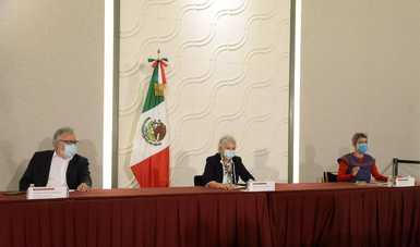 Palabras de la secretaria, Olga Sánchez Cordero, en el Informe sobre Búsqueda, Identificación y Versión Pública del Registro de Personas