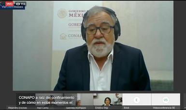 Expone Secretaría de Gobernación, a través del Conapo, principales desafíos demográficos en México ante COVID-19