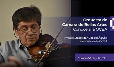 José Manuel del Águila, comprometido con la difusión de la música de cámara