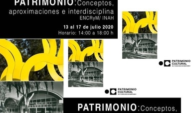 Emprenden ENCRyM y Tecnológico de Monterrey curso virtual de introducción al patrimonio cultural