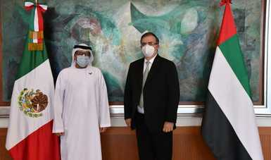 El Gobierno de México agradece la solidaridad del Gobierno de Emiratos Árabes Unidos ante COVID-19