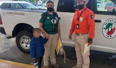 Reúne INM a niño guatemalteco con su mamá sustraído ilegalmente de su país