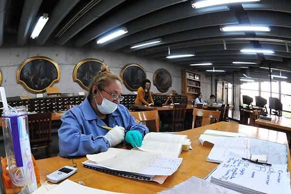 Laboran bibliotecas de la UNAM durante contingencia sanitaria