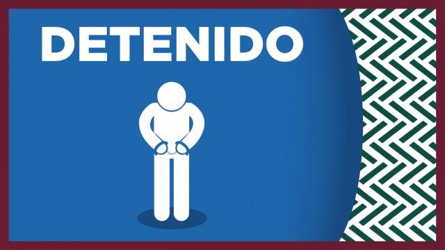 En la colonia Pedregal de Santo Domingo, policías de la SSC detuvieron a posible responsable de robo con arma blanca a un ciudadano