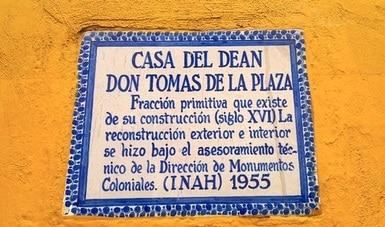 Dedican conversatorio virtual a la Casa del Deán, hito arquitectónico de la ciudad de Puebla