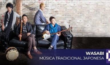 Internautas podrán apreciar la experiencia y tradición musical de Wasabi