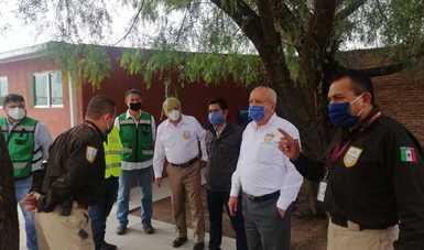 Reubica INM oficinas y estación migratoria en Zacatecas