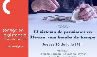 Analizará el INEHRM y Economía de la UNAM el sistema de pensiones en México