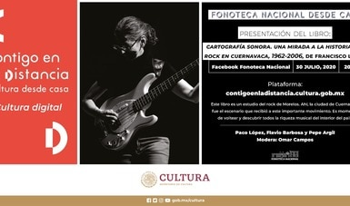 """Presentarán libro sobre la historia del rock en Cuernavaca, dentro del ciclo """"Fonoteca Nacional desde casa"""""""