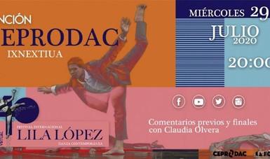 Participa el Ceprodac en el XL Festival Internacional de Danza Contemporánea Lila López