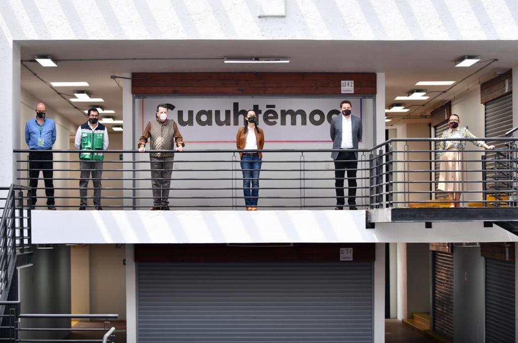"""Entregan Gobierno capitalino y alcaldía Cuauhtémoc rehabilitación del Mercado """"San Juan Curiosidades"""""""