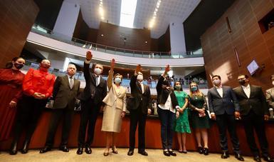 Embajadores de México en Belice, España, Irán y Serbia fueron ratificados por unanimidad en el Senado