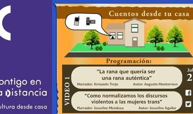 Cuentos desde tu casa, proyecto de la Galería José María Velasco para fomentar la narración oral