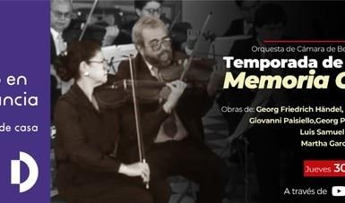 La OCBA presenta concierto con la pianista Marta García Renart y el director Luis Samuel Saloma