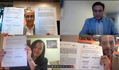 Radio Educación firmó convenio con el Instituto Electoral de la Ciudad de México