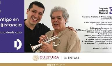 La OSN presenta el Concierto de otoño de Arturo Márquez, con el trompetista Pacho Flores